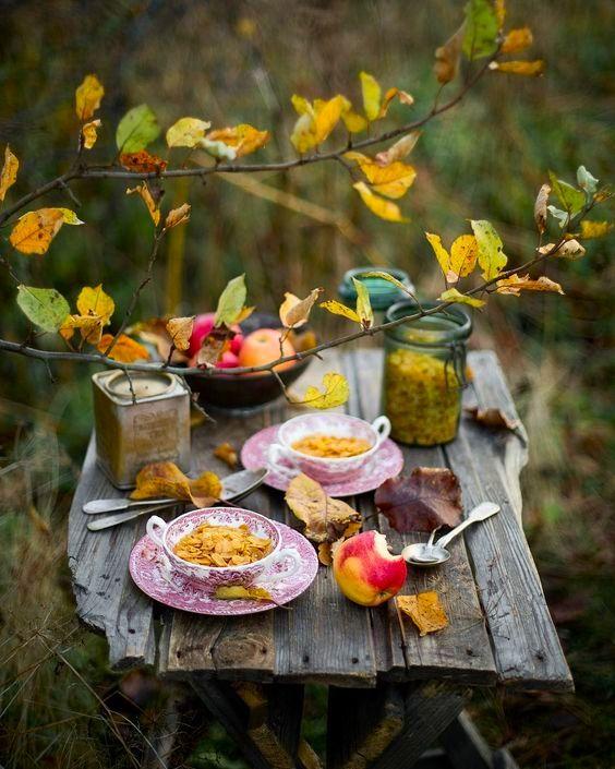 Пожелания доброго осеннего утра в картинках