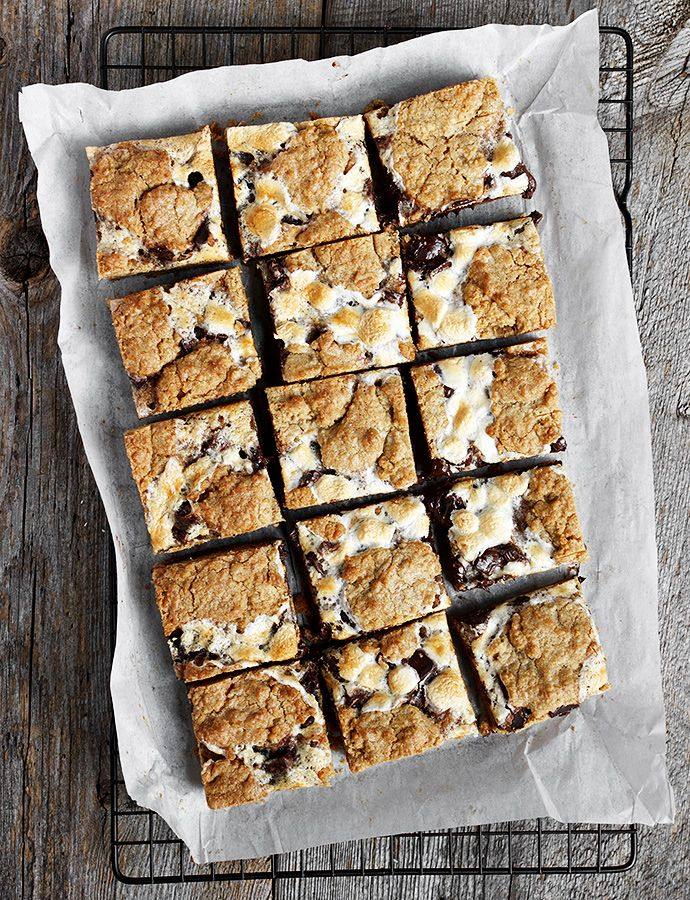 Weekend Baking: S'mores Cookie Bars