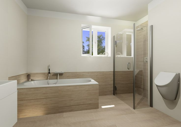 Bathroom and relax in Domus3D Antares, tiles ATLAS CONCORDE Etic and Brilliant