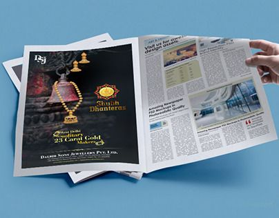 """Check out new work on my @Behance portfolio: """"jewellery newspaper advertisement"""" http://be.net/gallery/45319699/jewellery-newspaper-advertisement"""