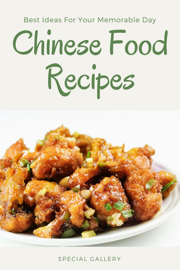 Find Out Local And Unique Chinese Food Recipes Choices For Your