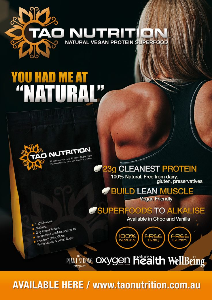 Posters for Natural Protein Powder + Ongoing