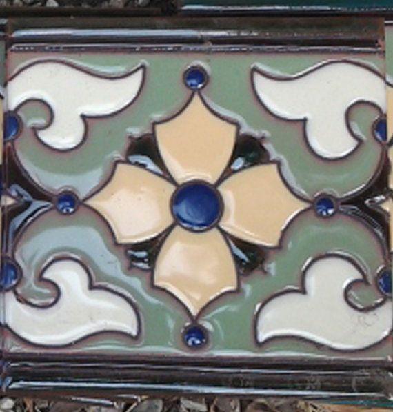 Decorative Handpainted Tile 6x6 Khalili Tiles