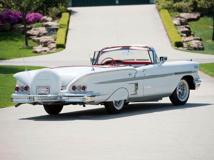 1958 chevrolet impala | Chevrolet Bel Air Impala Convertible (F1867) '1958