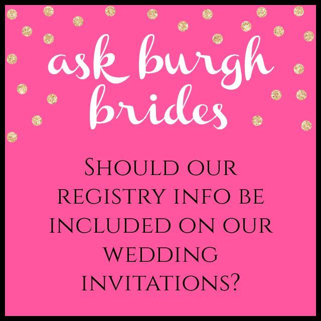 13 best Wedding Registry Must Haves images on Pinterest Bridal - fresh blueprint registry fees
