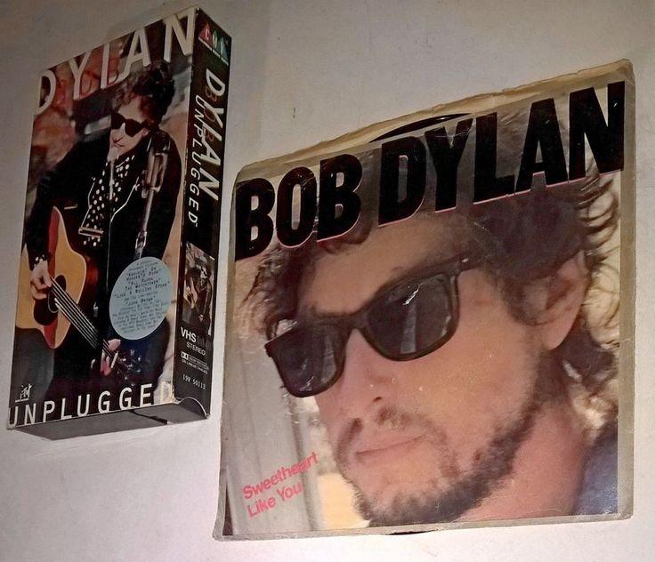 Bob Dylan Promo Demo Vinyl 45 Record Sweetheart Like You, VHS Unplugged 1995 MTV
