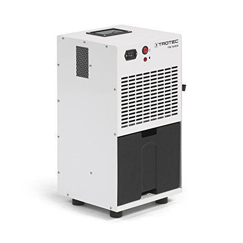 TROTEC Déshumidificateur TTK 75 ECO (max. 20 l/24 h): Compresseur à rotation Protection anti-débordement par arrêt automatique de…
