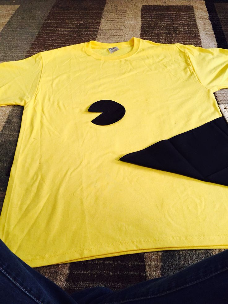 Made a pac man costume for my boyfriend