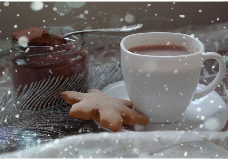 U mnie na wsi: Domowa gorąca czekolada - świąteczny prezent DIY