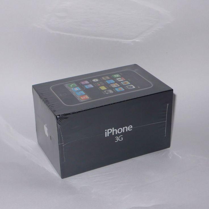 New Sealed Apple iPhone 3G - 8GB - Black (Unlocked) Collectors | eBay