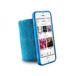 PURO Running Band - Frotka do biegania z etui iPhone 5/5S (niebieski)