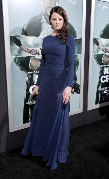"""Rachel Nichols at the premiere of """"Alex Cross"""" with Jill Milan's 450 Sutter clutch.  The clutch was featured in W Magazine and is available here:  http://www.jillmilan.com/bags/clutches/450-sutter.html"""