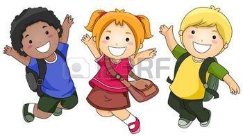 Resultado de imagen para niños felices en caricaturaas