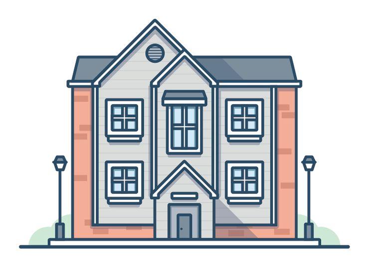 Apartment Building Illustration 136 best building illos images on pinterest | art designs