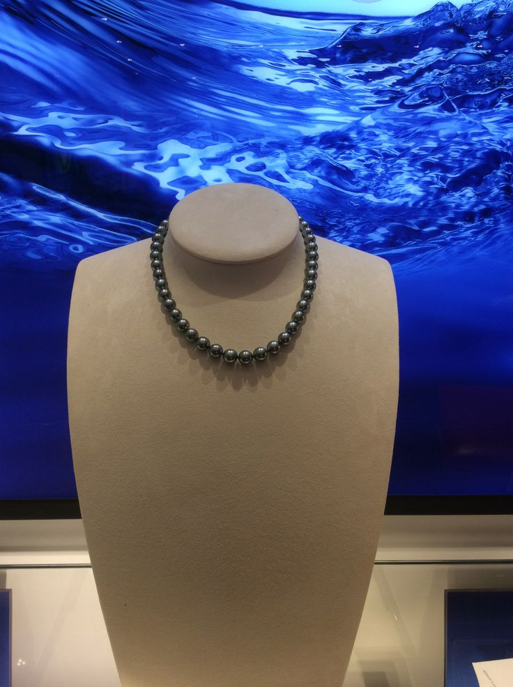 Mikimoto 8mm black pearls coming to Bakewell!