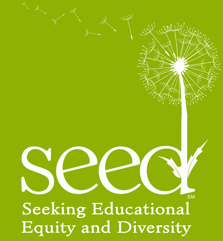 SEED Logo All White On Green