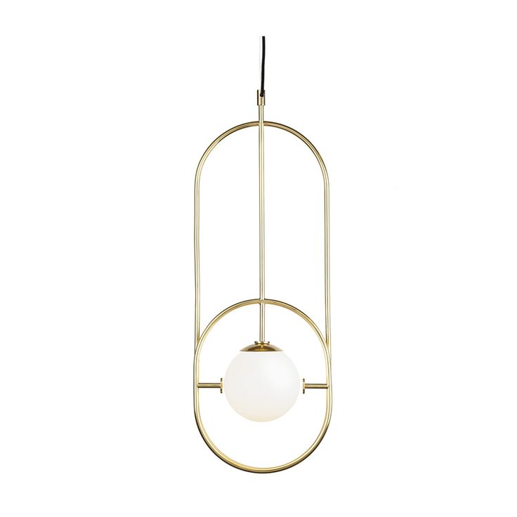 Buy online Loop i | pendant lamp By mambo unlimited ideas, contemporary style pendant lamp design Claudia Melo, loop Collection