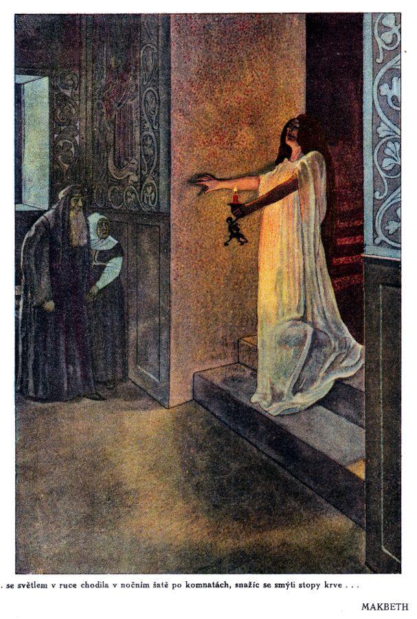 'Povídky ze Shakespeara / Tales From Shakespeare' illustrated by Artuš Scheiner. Published 1923 by Šolc & Šimáček, Prague.