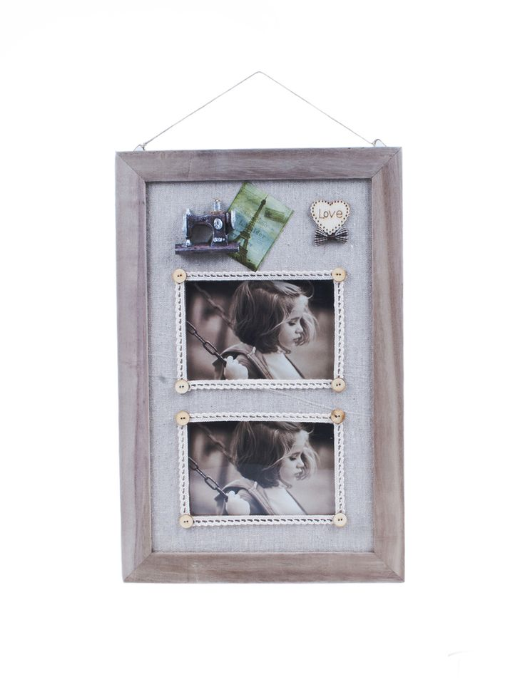 Ramka na dwa zdjęcia French Love lovelypassion.pl #shabbychic #vintage #country #shop #decor #home #dom #dekoracja #inspiration #beautiful #photo #frame