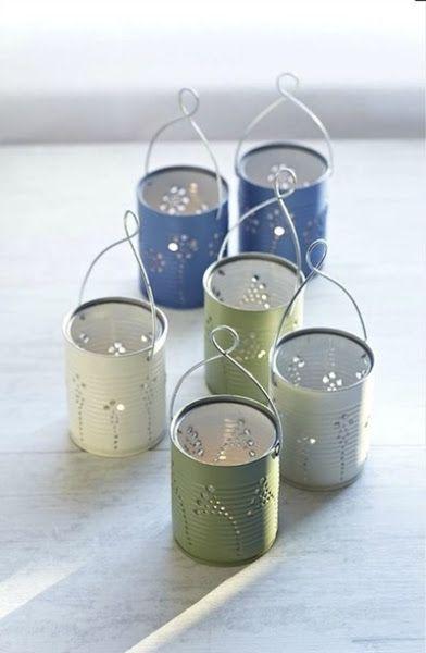 ideas de la semana: Reciclar latas de conserva   Aprender manualidades es facilisimo.com