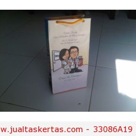 tas kertas souvenir pernikahan