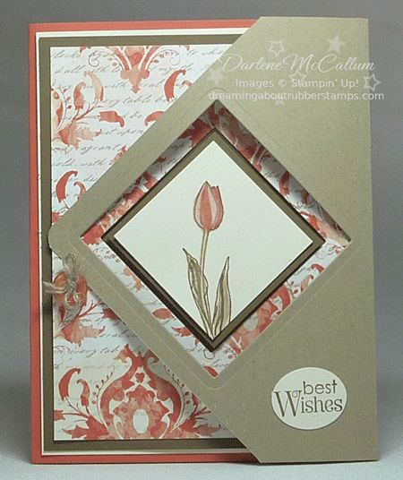 54 best fancy fold cards images on pinterest fancy fold cards handmade greeting card fancy flap card with square openings fun design that bookmarktalkfo Gallery