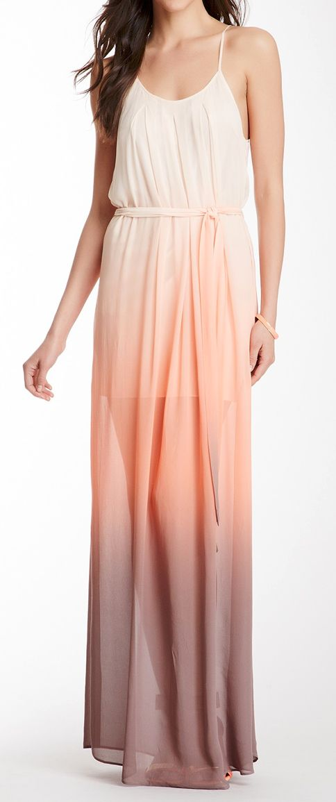 Sunset ombre maxi.