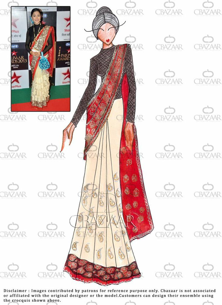 fashion designing drawings saree wwwpixsharkcom