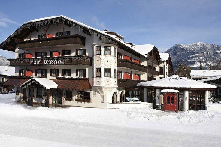 Garmisch Partenkirchen superbe station de ski allemagne 2   La beauté de Garmisch Partenkirchen   Zugspitze station ski photo Partenkirchen ...