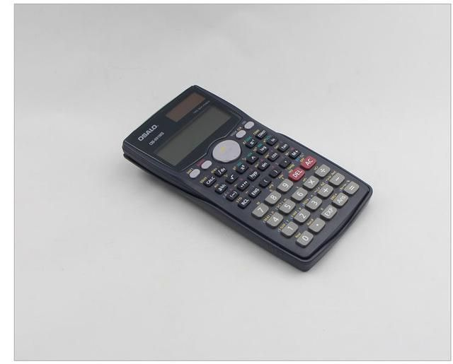 OS-991MS Scientific Calculator Dual Power Calculadora Cientifica with Languages Specification As Office & School Gift