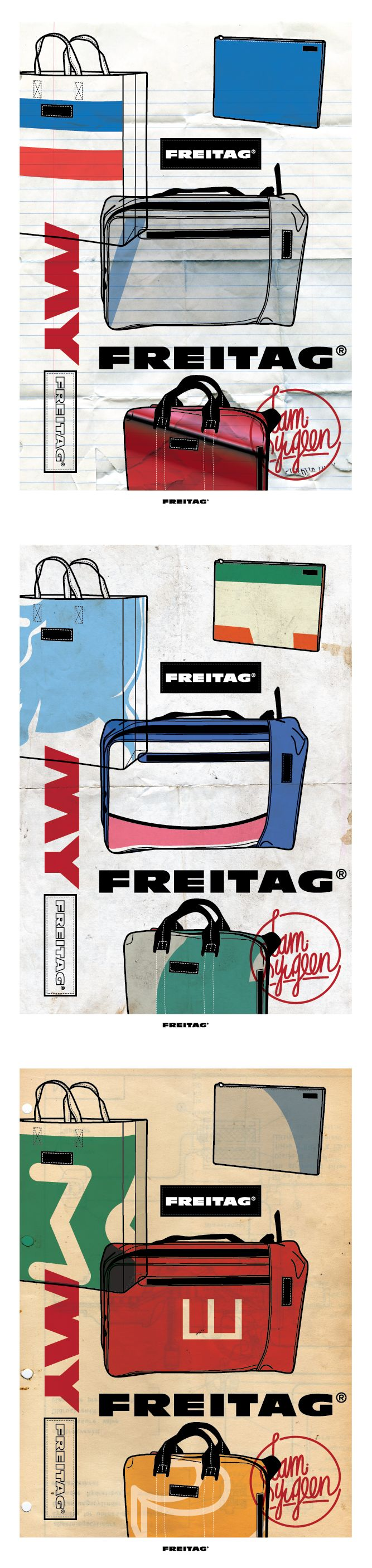 'My Freitag' Designed by Ryugoon.