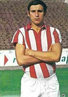 Dragan Dzajic of Red Star Belgrade in 1969.