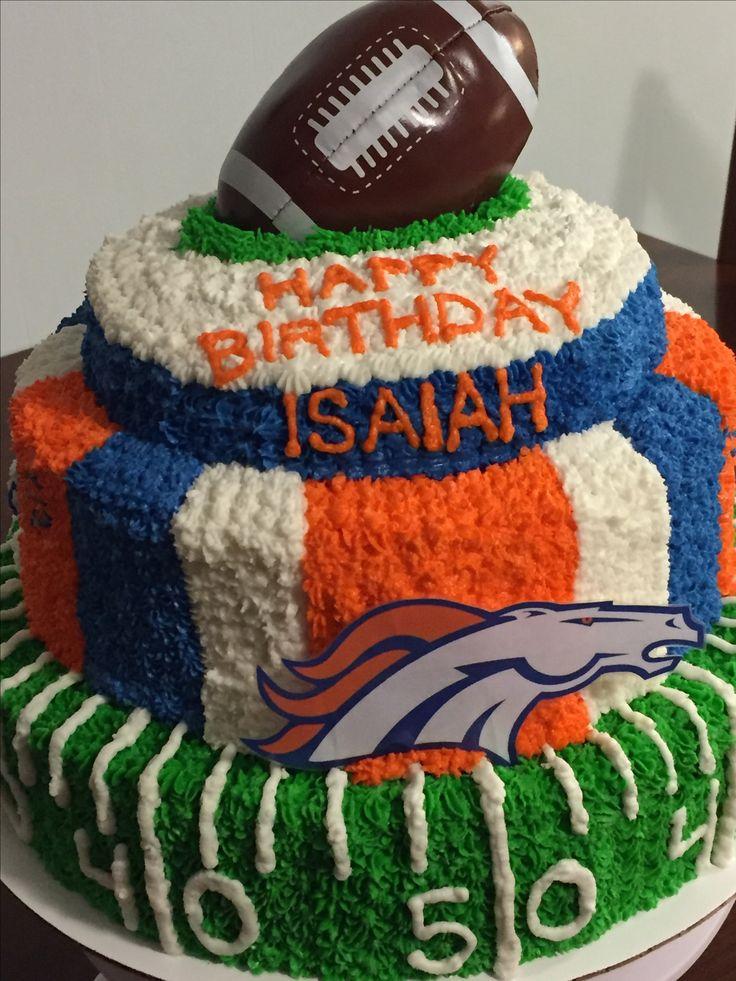Denver Broncos cake                                                                                                                                                                                 More