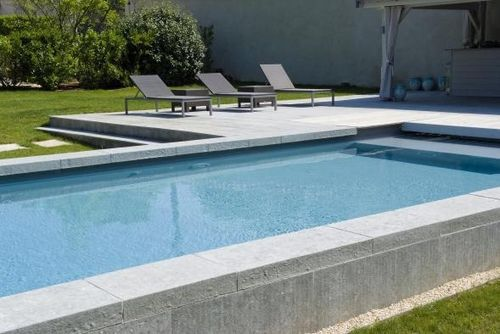 16 best images about semi inground pool design on for Piscine semi enterree coque