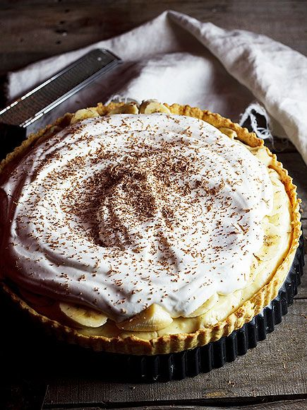 Banana Cream Pie from Simply Delicious