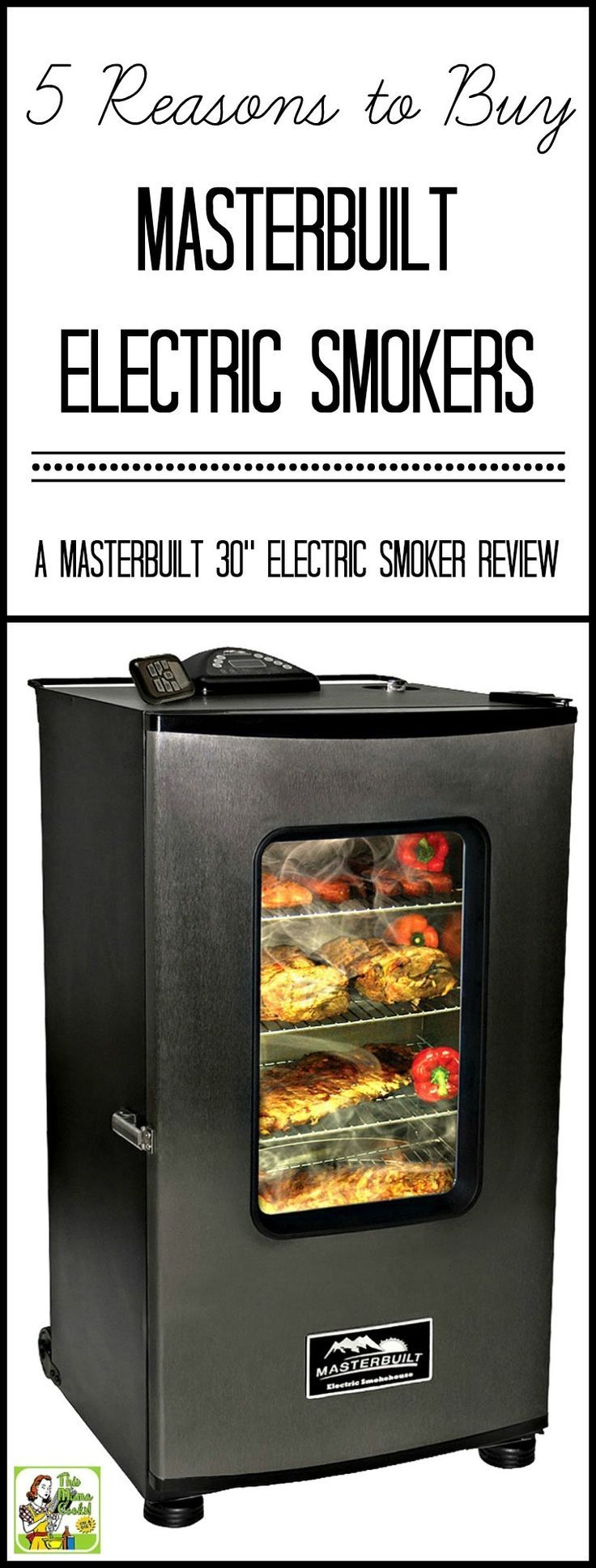 "5 Reasons to Buy Masterbuilt Electric Smokers–a Masterbuilt 30"" Electric Smoker Review via @amnichols"
