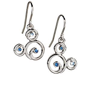 Disney Mickey Mouse Icon Earrings by Arribas - Filigre | Disney StoreMickey Mouse Icon Earrings by Arribas - Filigre - Blue Swarovski crystals highlight these filigre Mickey Mouse earrings. Created by the renowned Arribas Brothers, these elegant earrings will add glamour to your trip to the Park.