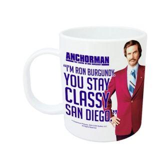 Stay Classy San Diego Anchorman Coffee Mug, from HomeWetBar.com