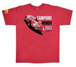 Nicolas Hunziker 1963 Ferrari 250 GTO car t-shirt