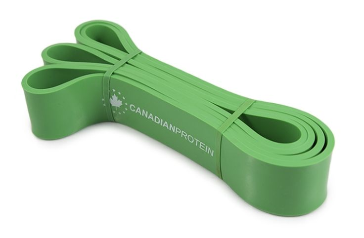 Product Number:  N3P Canadian Protein Resistance Bands are made from 4.5mm thick Latex and come in widths ranging from 0.5-3.3 inches with tensions ranging from 5-175 lb. Read the full product description for more information.