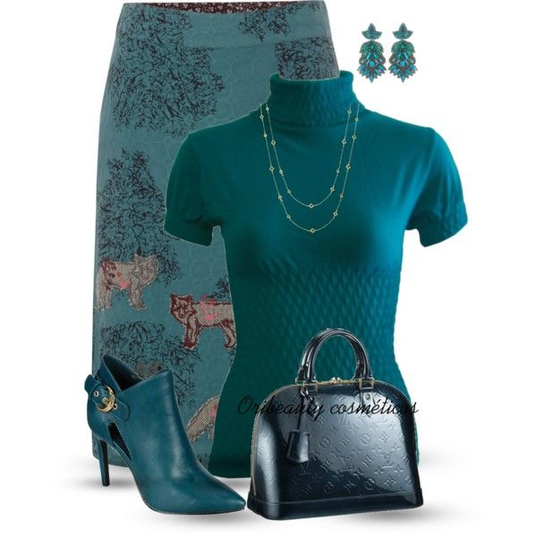 """""""Teal"""" by oribeauty-cosmeticos on Polyvore"""