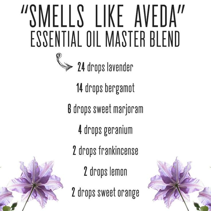 Smells Like Aveda (Safe EO Recipes Group)