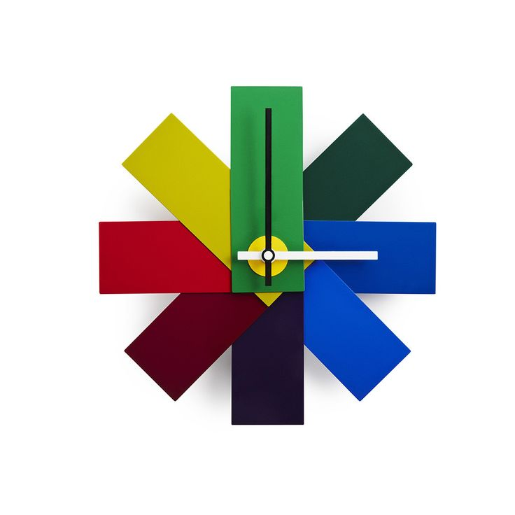 Fun and colorful wall clock, Discover the Normann Copenhagen Watch Me Wall Clock - Multicoloured at Amara