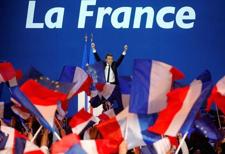 Terpilih Jadi Presiden Prancis, Anak Muda ini Dibanjiri Selamat