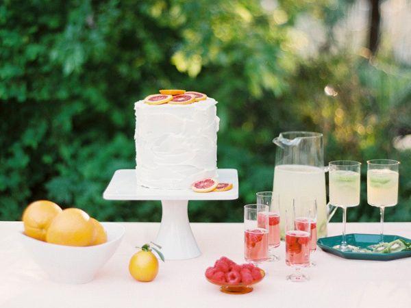 A Sparkling Raspberry Rosé Cocktail Recipe | TheKnot.com