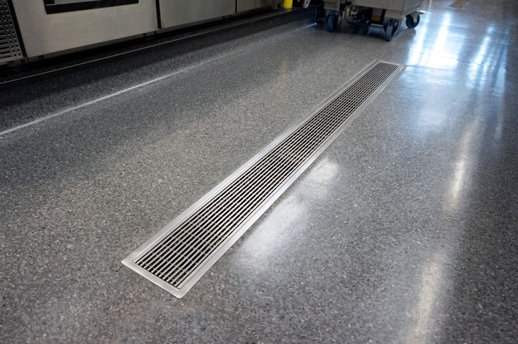 Allproof Vinyl Clamp Channel (VCC) Commercial Kitchen drainage solutions