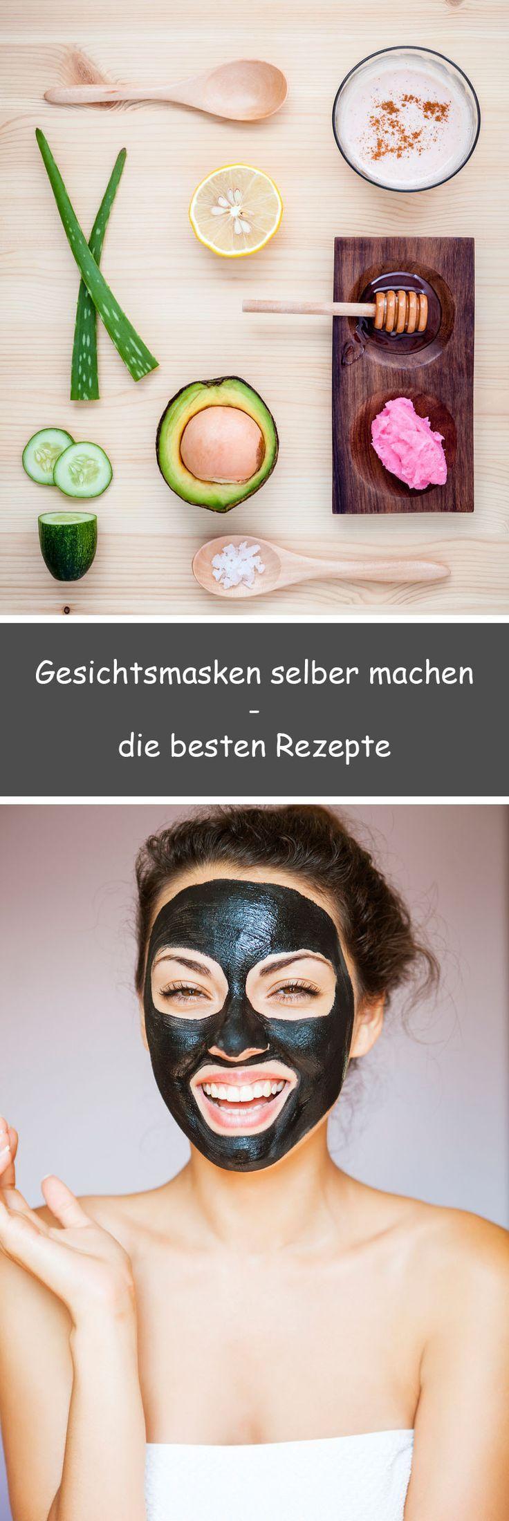 Gesichtsmasken selber machen • Schnelle Rezepte