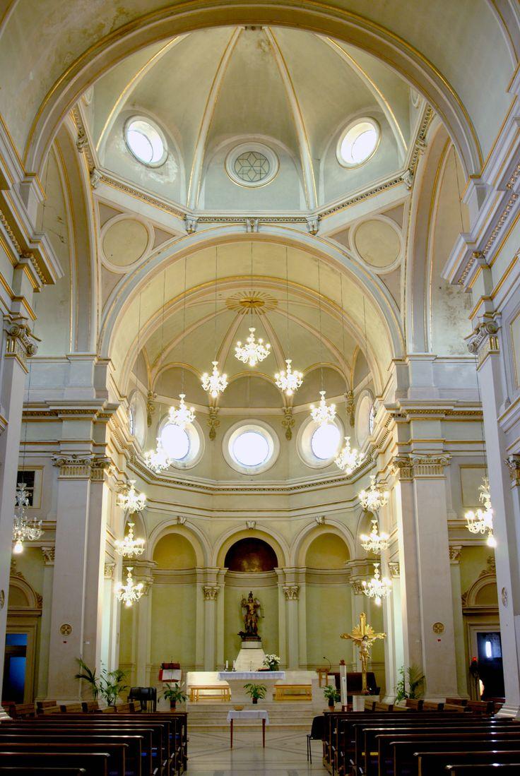 Chiesa di S Michele Arcangelo interno #marcafermana #monteurano #fermo #marche