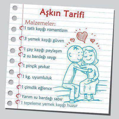 Aşkın tarifi❤