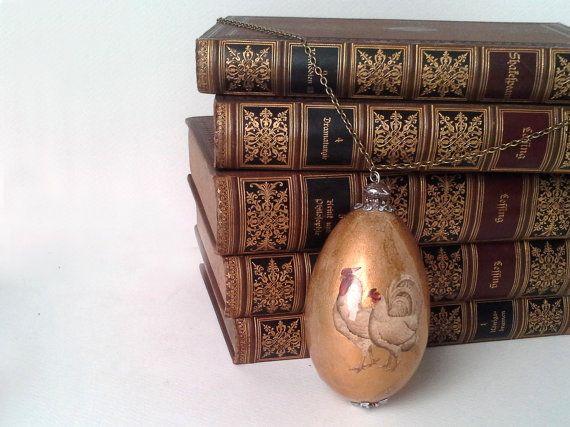 Easter egg romantic easter romantic egg by agnieszkamalik on Etsy, zł40.00